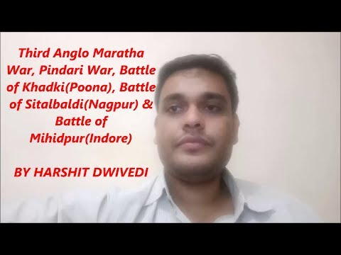 Xxx Mp4 3rd Anglo Maratha War Pindari War Battle Of Mihidpur Sitalbaldi Khadki 3gp Sex