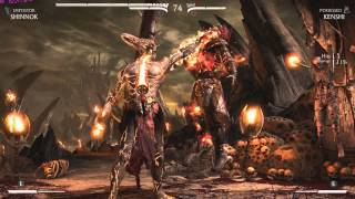 Mortal Kombat X: Corrupted Shinnok Playthrough (in 4K)