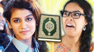 الهندية صاحبة أشهر غمزة تسيئ للإسلام !!