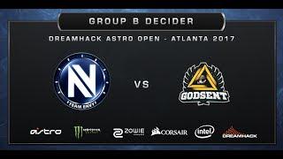 CS:GO - EnVyUs vs Godsent - Cobblestone - DreamHack ASTRO Open Atlanta 2017