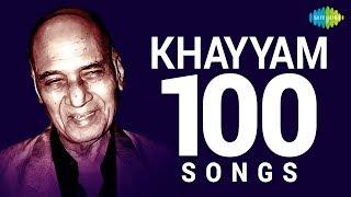 Top 100 Songs of Khayyam | खय्याम के 100 गाने | HD Songs | One Stop Jukebox