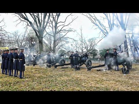 Presidential Salute Battery 2017 Inauguration 21 Gun Salute