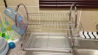 D.I.Y old dish rack tip