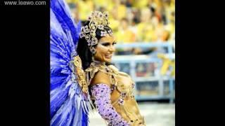 Brazil karneválozó csinos csajok.