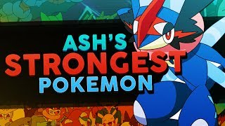 Ash Ketchum's Best / Strongest Pokemon In Each Region! - Woopsire