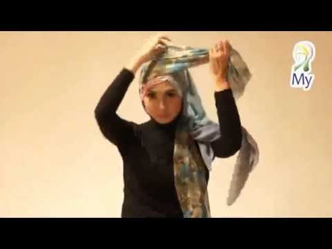 Tutorial Hijab Pasmina Dan Segiempat Yang Elegant