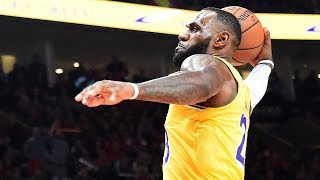 LeBron James' ELECTRIFYING Debut Performance with Lakers RUINED By Blazers!