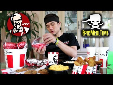 The Challenge EPIC MEAL TIME Failed KFC Full Menu