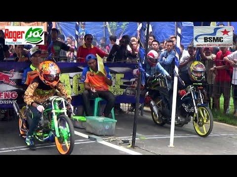 Jhon Pk DI TANTANG Joki Pemula, Begini Deh Jadinya ; Magelang Drag Bike 9 Oktober 2016 Bracket 8dtk