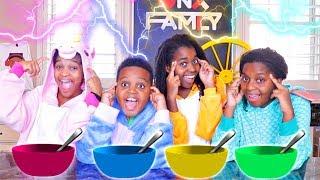 Twin Telepathy Honey Nut Cheerios Challenge! - Onyx Family