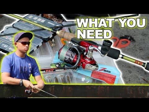How to START FISHING | EP1 ( What You Need) facepalmfishing