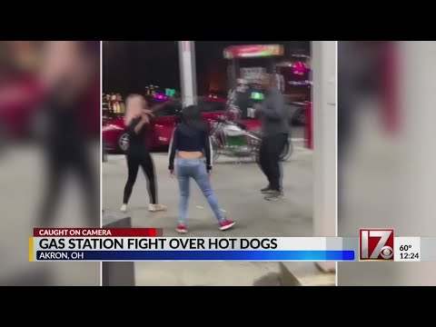 Xxx Mp4 Brawl Ensues Over Stolen Gas Station Hot Dogs 3gp Sex