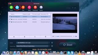 4K Converter - convert ultra hd 4K video files (MP4, MOV, MXF)