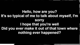 Adelle - Hello Official Lyrics