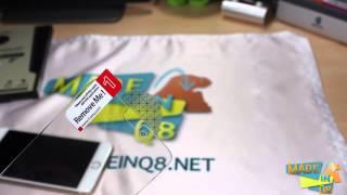 استعراض و طريقة تركيب حماية شاشة جهاز الايفون ٦ بلس من شركة iCarez
