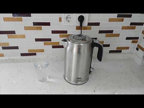 Fakir adell su ısıtıcı kettle