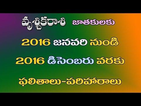 Xxx Mp4 2016 Vruschika Rasi Scorpion Phalalu 2016 Telugu 3gp Sex