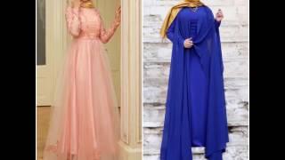 Birbirinden şık tesettür abiye elbiseler bihatun.com da !