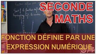 Fonction définie par une expression numérique - Maths seconde - Les Bons Profs