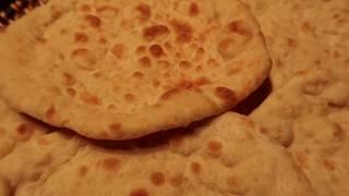  خبز ايراني بدون تنور في فرن البيت العادي
