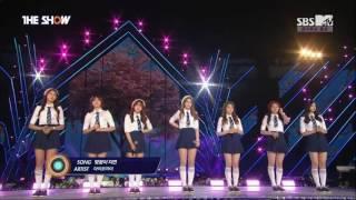 [160618] I.O.I (아이오아이) - 벚꽃이 지면 (When The Cherry Blossoms Fade) @ Suwon Concert