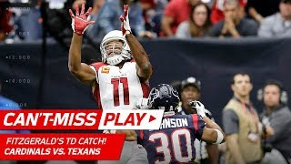 Budda Baker's Strip Sack & Recovery Leads to Larry Fitzgerald's TD! | Can't-Miss Play | NFL Wk 11