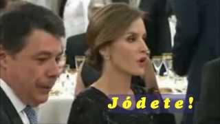 La princesa Letizia le dice