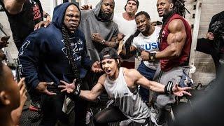 Live Workout: Mike Rashid, Kai Greene, Dana Linn Bailey, William Bonac, Ulisses Destroying Back