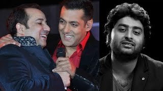 Rahat Fateh Ali Khan Reacts On Salman Kan & Arijit Singh Controversy !!