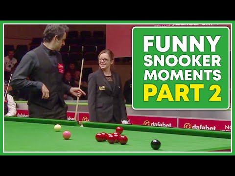 Funny Moments in Snooker of 2017 Part 2