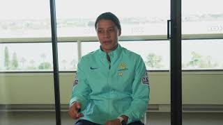 Sam Kerr when asked about playing DPR Korea in the 2010 AFC Women