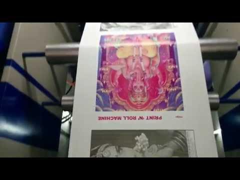 SIX COLOUR FLEXOPRINTING PRESS BY PRINT N ROLL MACHINES MUMBAI INDIA (PNRM)