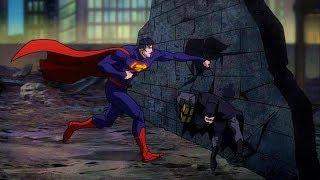 Superman vs Batman & Green Lantern   Justice League: War