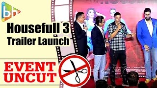 Housefull 3 OFFICIAL Trailer Launch | Akshay Kumar | Ritiesh Deshmukh | Abhishek Bachchan
