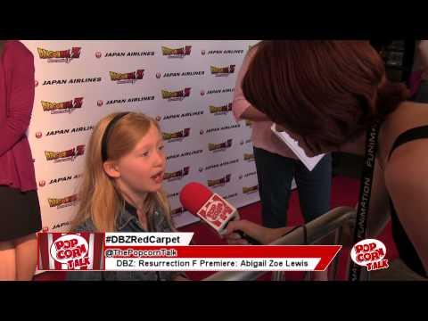 Abigail Zoe Lewis @ The Dragon Ball Z: Resurection F World Premiere