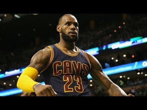 LeBron James BEST PLAY EVERY GAME 2016 2017 Season