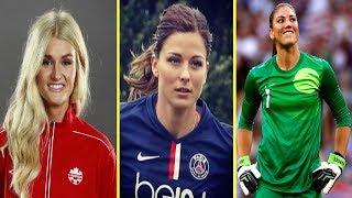 أجمل 7 لاعبات كرة القدم في العالم ! لن تصدق مدى جمالهم !!