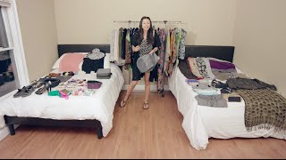 How To Pack Over 100 Items Into a Carry On
