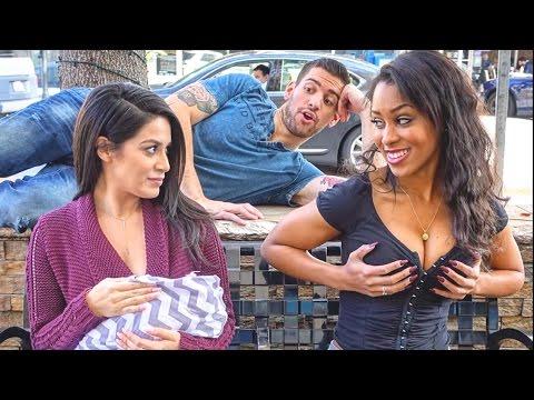 Sexy vs Breastfeeding in Public Social Experiment