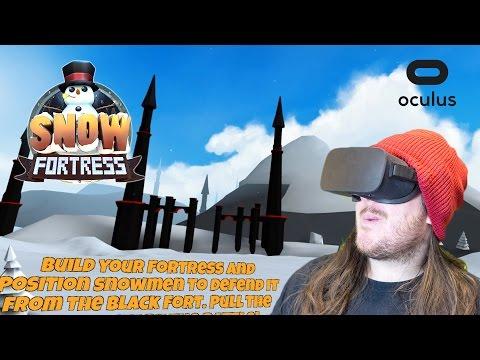 The Black Castle | Snow Fortress | Oculus Rift