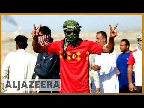 🇮🇶 Tear gas and water cannon fired at Iraqi protesters in Basra   Al Jazeera English
