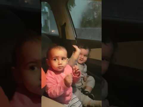 Jatt da pajama uccha ho gya || cute baby's || cute reactions || desi bhangra