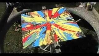 Spin Painting #7 by Abraham De La Torre