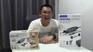 Dremel4300 3/45 Unboxing & Attachment Review