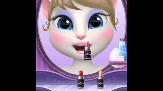 [My Talking Angela] When angela does her make up is  she naked