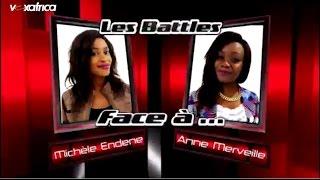 Michèle Endene vs Anne Merveille - Jammu Africa (Les battles | The Voice Afrique francophone 2016)
