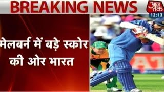 Champion Fir Se: India Heading Towards Big Score Against South Africa