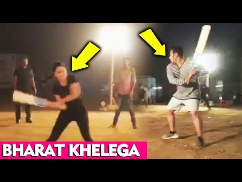 Xxx Mp4 Bharat के सेट पर Salman और Katrina Cricket खेलते आये नजर 3gp Sex