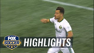 Sebastian Blanco ties it up for Portland Timbers vs. Seattle Sounders   Audi 2018 MLS Cup Playoffs