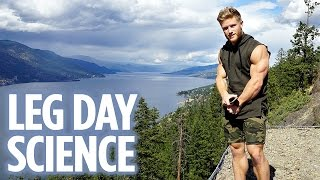 The Science Behind My Leg Day   Dinner Date   Bulking to the Olympia